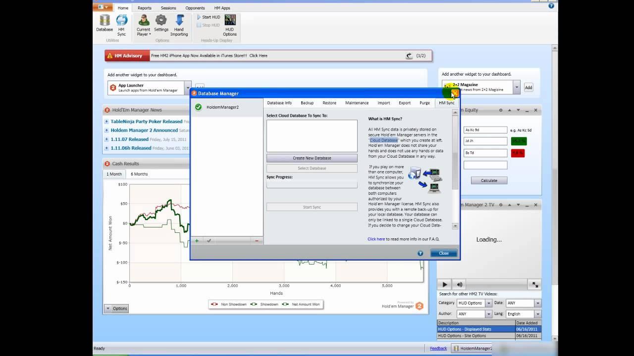 Software holdem manager 2