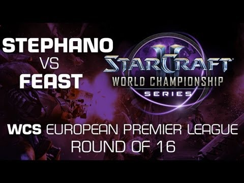 Stephano vs. feast - Group D Ro16 - WCS European Premier League - StarCraft 2