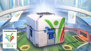 Overwatch - Summer Games Loot Box