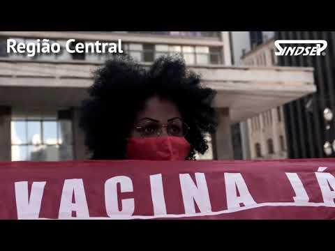 1º de Maio | Sindsep participa de carreatas e faixaços que denunciaram em SP política de genocídio
