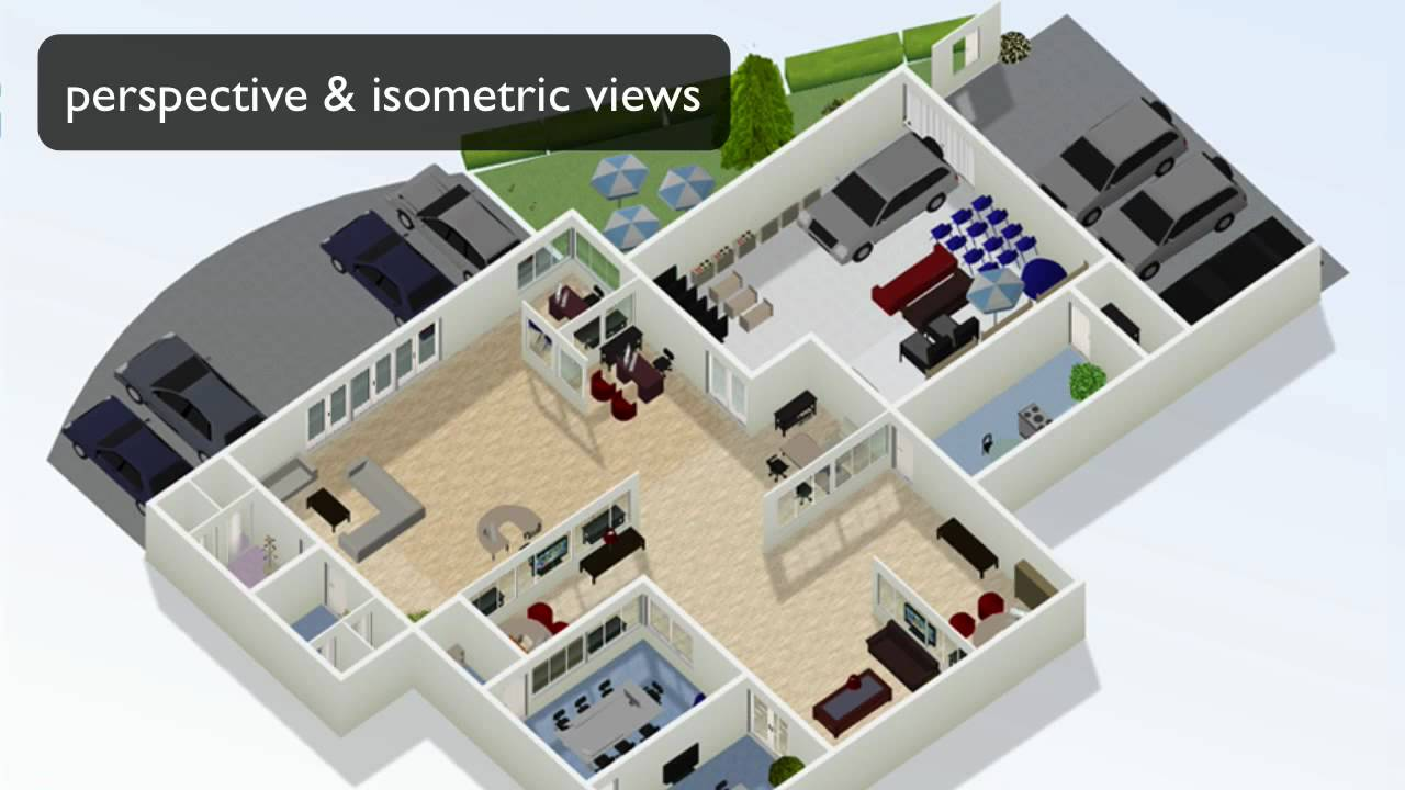 How to draw floor plans online youtube Online floor planner