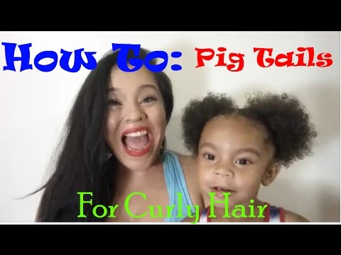 How I Style My 2 Year Olds Curly Hair