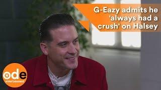 G-Eazy admits he 'always had a crush' on Halsey