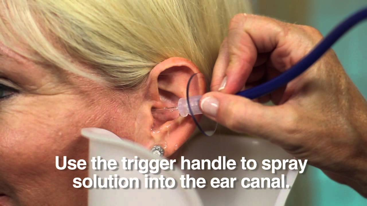 ear flush machine