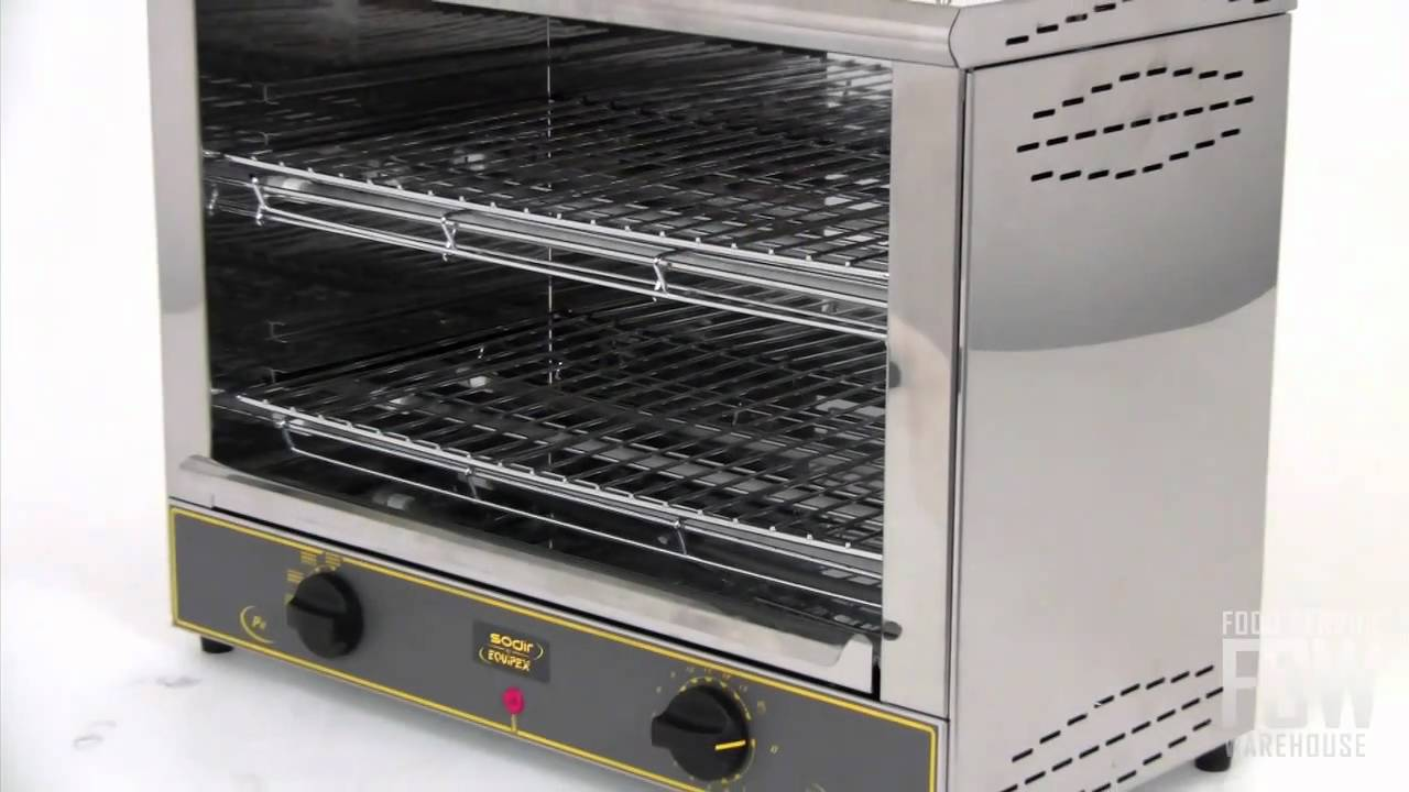 Equipex Commercial Toaster Oven Video (RST 227) - YouTube