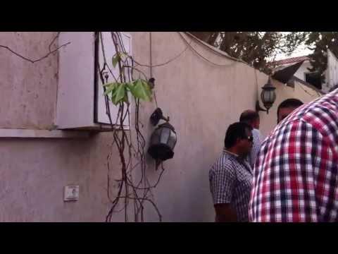 French Embassy Bomb Scene Tripoli Libya