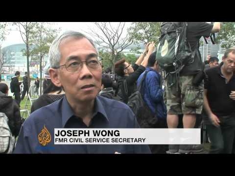 Thousands rally for Hong Kong's press freedom