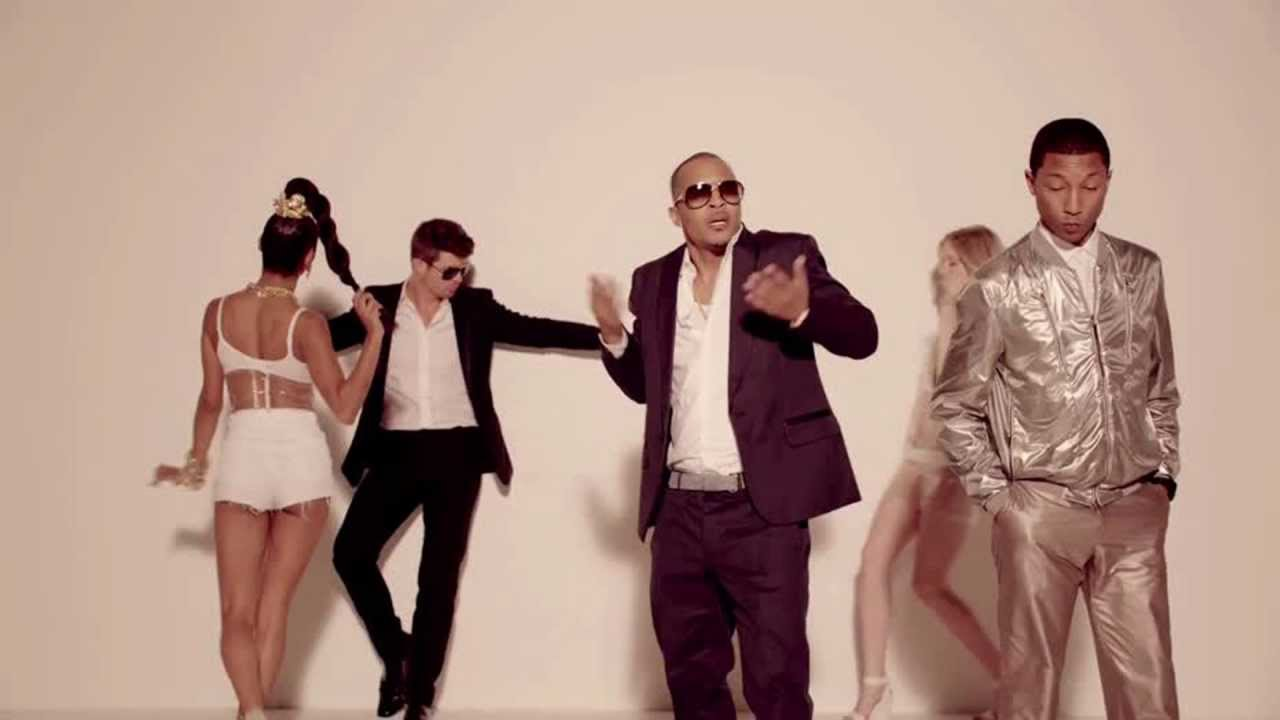 Robin Thicke Feat. TI & Pharrell - Blurred Lines (Starski ...