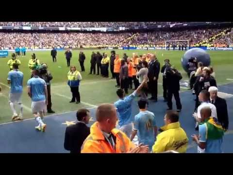 Vincent Kompany - this is why City love you more than you will know !