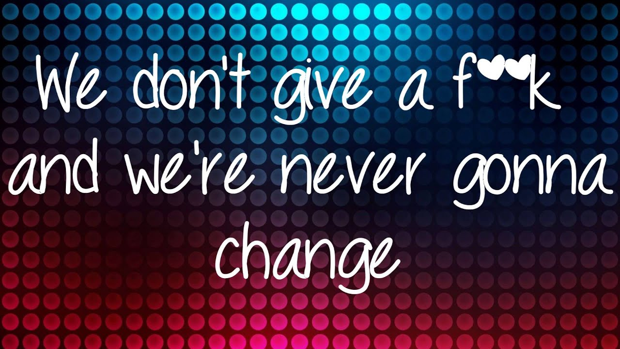 Avril Lavigne - Here's To Never Growing Up {{LYRICS ...