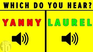 """""""YANNY"""" OR """"LAUREL"""" SOLVED - Which Do YOU Hear?"""