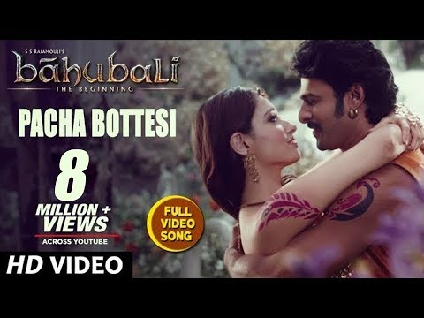 Baahubali Movie Pacha Bottesi Song