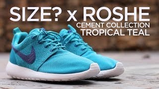 Quick Look: Size? X Nike Roshe Run Tropical Teal