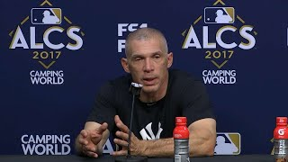ALCS Gm6: Girardi on the loss, gearing for Game 7