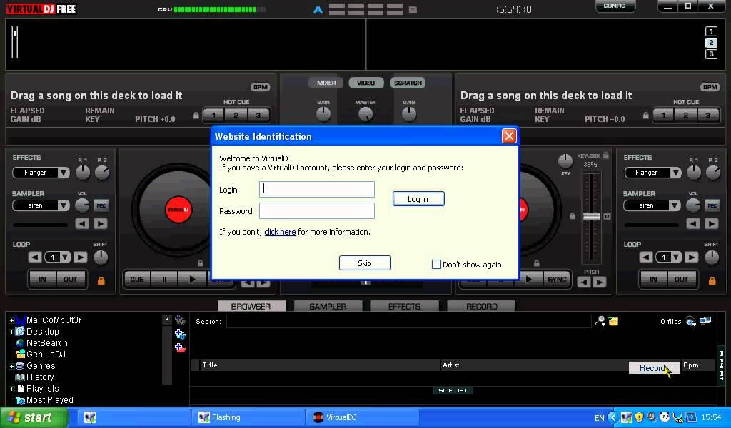 Download Atomix Virtual DJ Pro 7 Portable with Keygen Crack Serial Number L