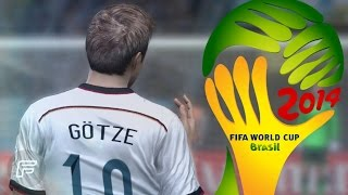 Mario Götze Winning Goal Vs. Argentina Remade (2014 FIFA World Cup: Brazil)