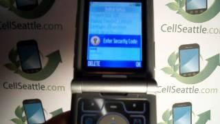 Master Reset Motorola V3 RAZR.MOV