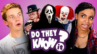 DO TEENS KNOW 90's HORROR FILMS?  (REACT: Do They Know It?)