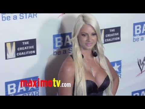 WWE Diva: Maryse Ouellet at WWE SummerSlam 2011 LA Event