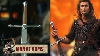 [William Wallace's Claymore (Braveheart) - MAN AT ARMS] Video