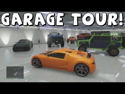 Grand Theft Auto 5 | Updated Online Garage Tour | Sultan RS, Adder, Rat Loader and More!,