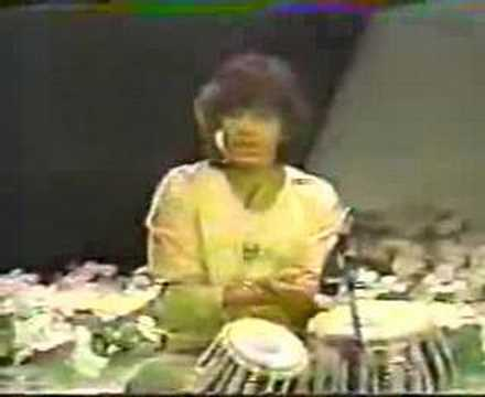 Zakir Hussain lecture and demonstration of tabla