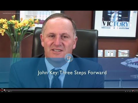 John Key: Three important announcements