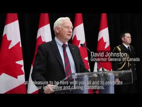 National Volunteer Week with the Governor General of Canada