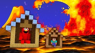 ĐIỆN MÁY XANH ĐẤU VỚI BÃO LỬA!!! - Minecraft: Thử Thách Sóng Thần