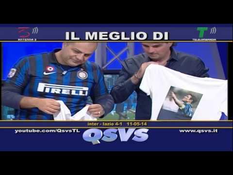 QSVS - I GOL DI INTER - LAZIO 4-1  TELELOMBARDIA / TOP CALCIO 24