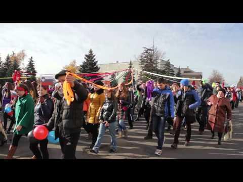 Видео!  День народного единства в Снежном!