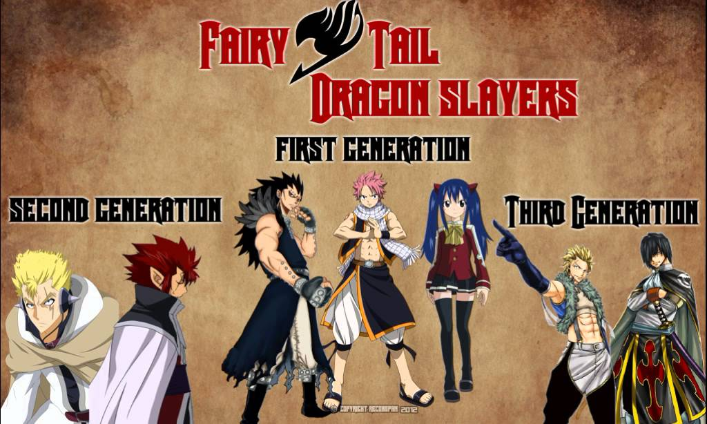 All Dragon Slayers Fairy Tail Photos 1
