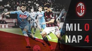 AC Milan-Napoli 0-4 | AC Milan Official