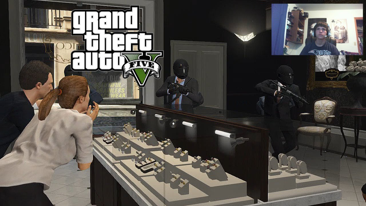 gta v part 5 quot jewelry heist quot live gameplay w facecam