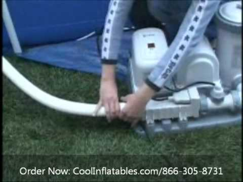 intex pool filter setup instructions