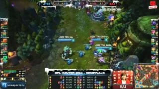 [GPL 2014 Mùa Đông] [Bán Kết 1] [Game 3] Saigon Jokers vs Azubu Taipei Assassins [18.12.2013]