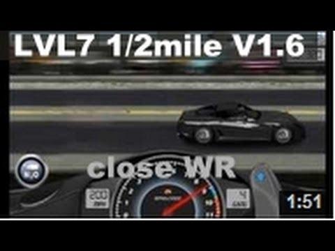 Drag Racing Level 7 Ferrari Novitec Rosso 599 Gtb 1 2 Mile Tune V1 6