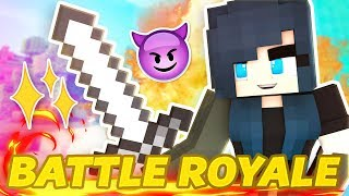 MINECRAFT BATTLE ROYALE! WILL WE SURVIVE?
