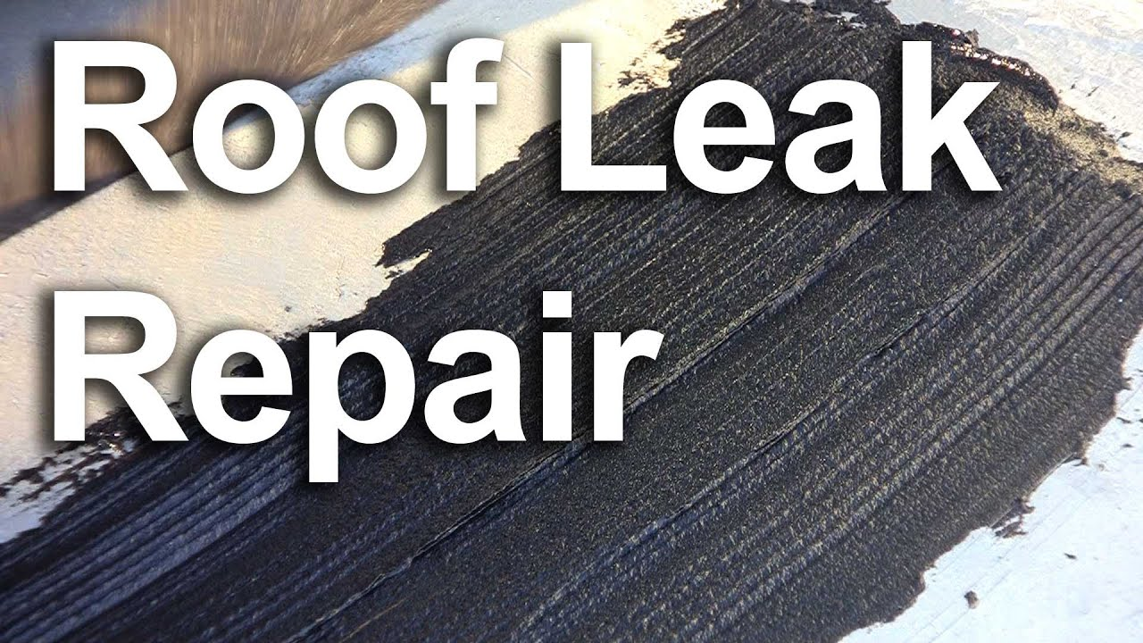 Roof Leak Repair Fix A Leaking Roof Gardenfork Tv Youtube