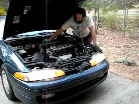 1993 Mitsubishi Eclipse engine repair - YouTube