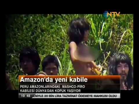 Amazonda Yeni Kabile Bulundu, Peru