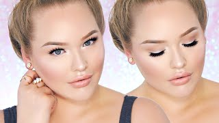 PERRIE EDWARDS Inspired Fresh/Nude Glam - Glowy Skin Makeup!