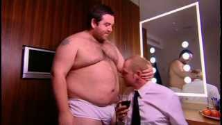 Nick Frost in Underwear