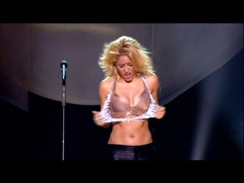 Shakira Sexy Shake (Live From Paris HD)