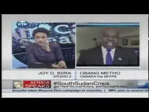 Africa Speaks on South Sudan Crisis with Joy Doreen Biira