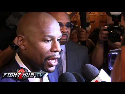 Floyd Mayweather on Maidana glove demands