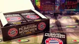 PREMIERE PL YT: BOX FC BAYERN MUNCHEN PANINI TRADING CARDS