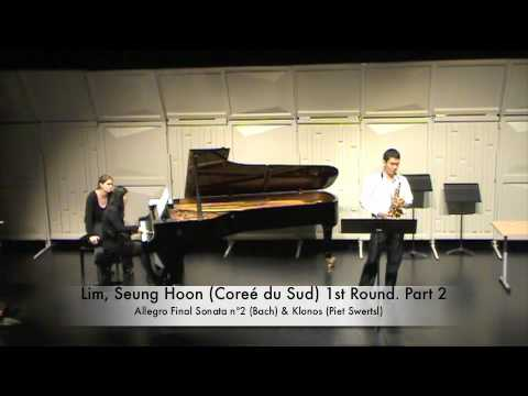 Lim, Seung Hoon Coreé du Sud 1st Round Part 2