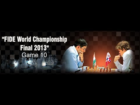 Game 10 - Part 1 - Viswanathan Anand vs Magnus Carlsen | FIDE World Championship 2013