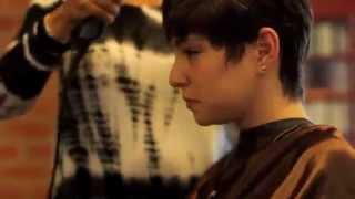 Long Hair To A Short Pixie Cut